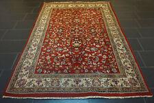 Schöner Handgeknüpfter Perser Orient Teppich Blumen TÄBRIZ Nain Carpet 170x245cm