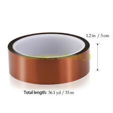 30mm 100ft Kapton Tape Resistant High Temperature PCB BGA Wave Soldering