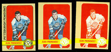 1972-73 TOPPS #143 JEAN PRONOVOST PROGRESSIVE PROOF SET of 6 MINT UNIQUE 2-LOA's
