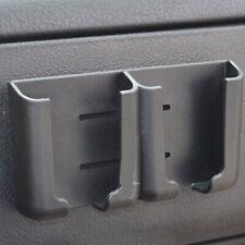 Car interior Phone Pen Organizer Storage Bag Box Holder Cradle Black Universal