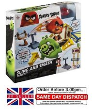 Angry Birds Sling and Smash Track Set Kids Children Boys Birthday Xmas Toy Gifts