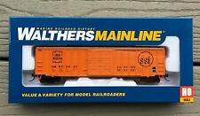WALTHERS 1/87 HO GREEN MOUNTAIN RR 50' EXTERIOR POST BOXCAR RD #0640 FS 910-2143