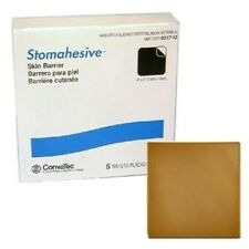 """Convatec 021712 Stomahesive 4""""X4"""" Wafer (5 in a box)"""