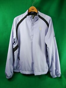 QUAKER RIDGE Golf Club embroidered logo Adidas long sleeved jacket pullover