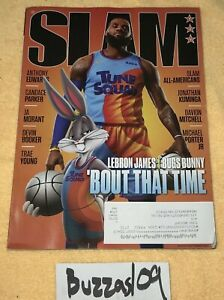 Slam Magazine Issue #233 Aug/Sept 2021 Lebron James Bugs Bunny About Time Cover