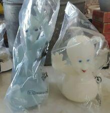 1995 Pizza Hut plastic glow in dark Casper & Stretch Ghost figures new sealed