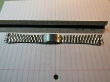 NOS Stainless Watch Bracelet Accutron Deep Sea 666 Astronaut 18mm XX LONG!