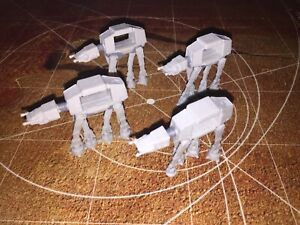 Micro Machines Star Wars Rogue One Lot X4 AT-ACT AT-AT All Terrain Armored Trans