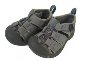 Keen Toddlers Baby Size 4 Gray Water Summer Hiking Shoes Sandals EU 21; UK 3