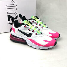 Nike Women's Air Max 270 React Sneakers CJ0619-101 White/Black/Hyper Pink