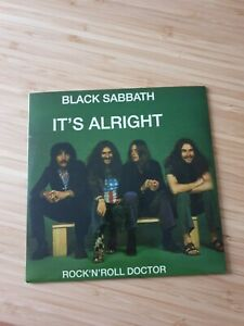 "Black Sabbath - It's Alright Rock 'n' Roll Doctor 7"" Single Supersonic Years"