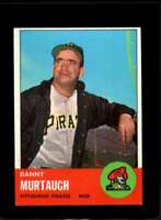 1963 TOPPS #559 DANNY MURTAUGH NMMT PIRATES MG  *XR19801