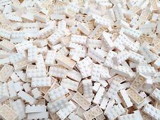 100 weiße 2x4 Steine *neu* Original Lego ® Bricks 3001 Star Wars kg Konvolut
