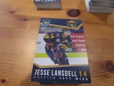 2017-18 VERNON VIPERS JESSE LANSDELL BCHL SINGLE PLAYER CARD