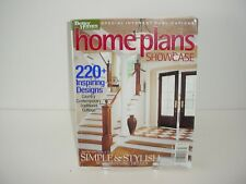Home Plans Showcase 2003 Better Homes and Gardens Book