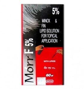 Morr-F (Minox/Fin.) 5%/0.1% (60mL) Hair regrowth DHT Blocker