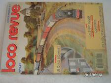 **a2 Loco Revue n°543 La SYBIC Jouef / Locomotive vapeur 1-232 TC Fleischmann H0