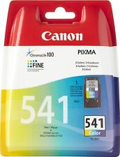 Genuine Canon CL-541 Colour Ink Cartridges for PIXMA MG4250 MG3350 MG3155 MG2250