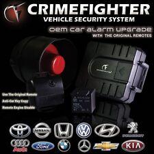 New CRIMEFIGHTER Vehicle Security OEM Upgrade Car Alarm System