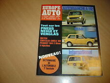 Europe Auto N° 45 Autobianchi A112.Chrysler 180 / 504 Injection.