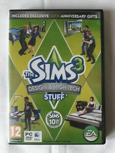 The Sims 3 Design & High-tech Stuff Expansion Pack Windows PC/MAC Game By EA...