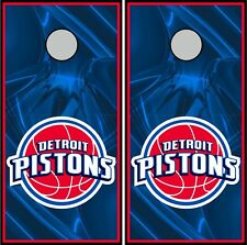 Detroit Pistons 0325 cornhole board vinyl wraps stickers posters decals gift