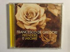 FRANCESCO DE GREGORI  -  PRENDERE E LASCIARE  -  CD 1996  NUOVO E SIGILLATO