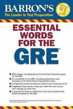 Essential Words for the GRE, 4th Edition (Barron's Essential Words  - VERY GOOD