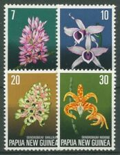 Papua Neuguinea 1974 Blumen Orchideen 275/78 postfrisch