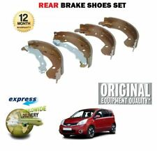 FOR NISSAN NOTE 1.4 1.5 DCI 1.6 2006--> NEW REAR BRAKE SHOES SET *OE QUALITY*