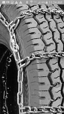 *NEW LT235/85R16 LT245/75R16 *7mm*COMMERCIAL* CAM Tire Chain +2 CROSS CHAINS 5-5