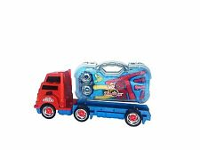Boys Take a Part Build DIY Toy Truck Toolkit Case Tool Construction Lights Sound