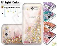 LG X Style Tribute HD Bling Hybrid Liquid Glitter Rubber Protective Case Cover
