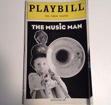 Playbill The Music Man 2001 Neil Simon Theatre Eric McCormack Rebecca Luker