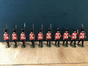 Britains: Recast Marching Grenadier Guards. 54mm Metal Figures