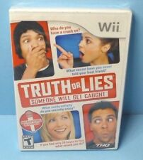 Truth or Lies (Nintendo Wii, 2010) BRAND NEW FACTORY SEALED NO MICROPHONE