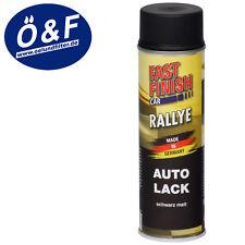 Dupli FAST FINISH Auto-Lack 500ml (6,60€/L) schwarz matt