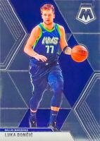 Luka Doncic 2019-20 PANINI MOSAIC 2nd Year Chrome Base Card #44 Dallas Mavericks