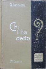 Chi l'ha detto?: tesoro di citazioni italiane e straniere di origine letteraria