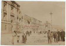 Messina Italia Italia Terremoto terremoto patate 28-12-1908 Stampa analogica