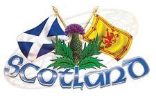 Piccole dimensioni Scozia Cardo & Cross Bandiere 4x4 CORSA AUTO CAMION FURGONE BARCA