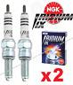 2 x NGK Iridium IX Performance Spark Plug CR7EIX  Kawasaki, Suzuki, Husqvarna ++