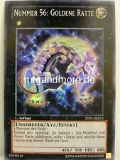 YU-GI-OH - 1x numero 56: ratto D'ORO-ZTIN - 2013 Zexal Collection TIN SUPER