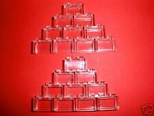 LEGO CLASSIC  20 transparente Bausteine 3065 1x2 Noppen  NEUWARE