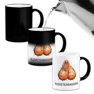 #LOVETEABAGGING Funny/Rude Heat Colour Magic Changing Mug
