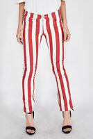 MOSCHINO JEANS Pantaloni Multicolore Sportivi Taglia IT 40 - W 26 Donna Woman