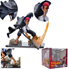 "ONE PIECE/ FIGURA SHANKS 13 CM-  ANIME FIGURE VER. BATTLE 5"" IN BOX"