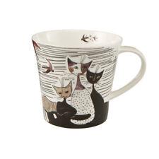GOEBEL - ROSINA WACHTMEISTER- Monochrome Cat Mug Design 1
