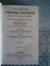Cours élémentaire d'histoire naturelle, minéralogie, géologie, Beudant 1854