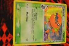 Trapinch 84/110 EX Holon Phantoms Reverse Holo Pokemon Card With stamp